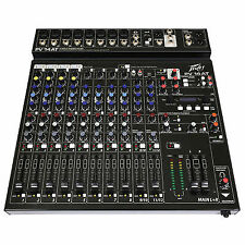 Peavey Mixer PV 14 at Auto-tune 8 Channel PA Digital Audio Mixing Console