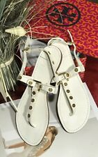 New Tory Burch Marge Tumbled Leather Sandal In White .Us 7,5 retail $225!