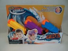 NERF Super Soaker Zip Fire 3 Pack Toy Water Guns  Hasbro Age 6+
