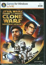 Star Wars The Clone Wars Republic Heroes PC Game New & Sealed Windows Vista/XP