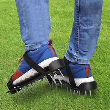UK 26x 4.5cm Spikes Pair Lawn Garden Grass Aerator Aerating Sandals Shoes