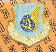 USAF PAF Pacific Air Forces shield pocket patch