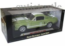 Shelby Collectibles 1967 Shelby Mustang GT 500 1:18 Light Green w White Stripes