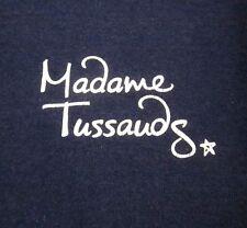 MADAME TUSSAUDS wax museum small T shirt London waxworks tee UK logo