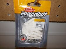 "Berkley Powerbait 2"" Power Grub white PBHPG2-WH NIP"