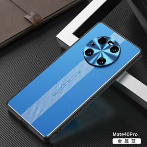 For Huawei Mate 40 Pro Pro+ Luxury Shockproof Aluminum Metal Magnetic Cover Case