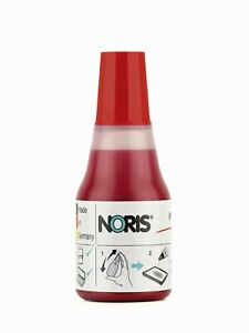 Rubber Stamp Refill RED Ink 25ml Bottle FREE SHIPPING #19354