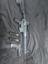 Airsoft Krytac Trident with 4 mags & KWA CQB master green gas pistol full metal
