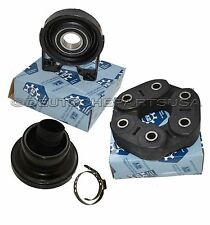 VW DRIVESHAFT CENTER SUPPORT BEARING + FLEX DISC + CV BOOT 95542102099 CSB SET 4