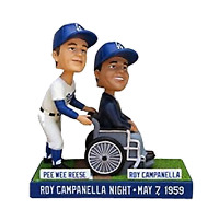 Pee Wee Reese & Roy Campanella Los Angeles Dodgers SGA - 07/12/14 Bobblehead MLB