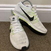 Nike Flyknit Streak White Running Mens Trainers UK Size 6