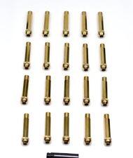 1320 Performance close end Gold STEEL LUG NUTS 12x1.5 20 PCS JDM KEY lock 95mm