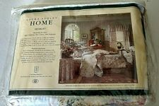 Laura Ashley Home  Cotton Blend Multi-Color Floral Full Bed Skirt