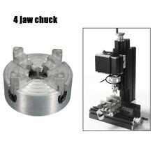 4-Jaw Mini Wood Lathe Chuck Metal CNC Milling Drilling Tool 1.8~56mm/12~65mm