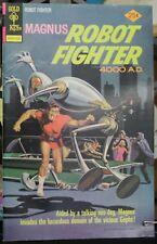 Magnus Robot Fighter 4000 A.D. #39 VF+ Gold Key