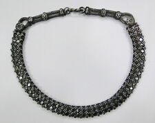 TRADITIONAL DESIGN SILVER CHAIN NECKLACE RAJASTHAN IND
