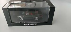 1/43 minichamps porsche 911 1995 noir métallisé edition limitée