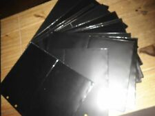 99350/ Philswiss 20  schwarze Hüllen für 80 FDC z.B. WWF