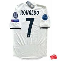 Adidas Real Madrid 2018/19 Climachill Player Issue CL Home Jersey - Ronaldo 7.