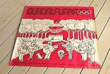 1968 Mexico Summer Olympics Original Periodico Mural by Abel Quezada Poster