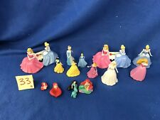 LOT OF DISNEY PRINCESS FIGURES CAKE TOPPERS