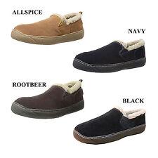 Tamarac by Slippers International Men Prescott Leather Twin Gore Slip-On Loafer