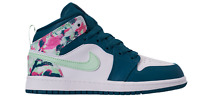Jordan 1 Mid Green Abyss/Frosted Spurce (PS) (640737 300)