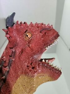 Disney's Dinoland Animal Kingdom Carnotaurus Dinosaur Latex Hand Puppet