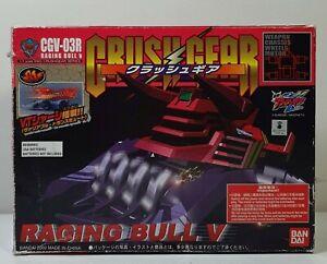 Bandai Crush Gear Turbo - Raging Bull V (2002)   Boxed & Complete!