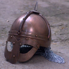 18GA Medieval Viking Mask Helmet Nasal-Helmet Replica Halloween Costume Q490