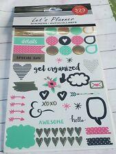 Planner Sticker Book, 323 stickers, Journal