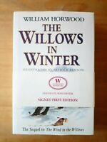 1ST EDITION THE WILLOWS IN WINTER SIGNED. WILLIAM HORWOOD. FIRST WIND IN WILLOWS