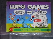 LUPO GAMES n°2 suppl. a LUPO ALBERTO n°97 ed. Macchia nera  [G327]