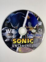 Sonic Unleashed (Nintendo Wii, 2008) Disc Only Tested And Works !