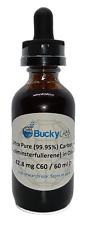 C60 Olive Oil 99.95% Buckminsterfullerene 60ml -Possible Anti-aging!