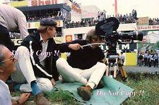 Steve McQueen Le Mans Film Ritratto Fotografia 1971 30