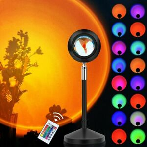 Projektionslampe Sunset Regenbogen Sonne Sonnenuntergang Projektor Licht USB LED