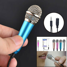 Mini Karaoke Condenser Wired 3.5mm Stereo Microphone For Android Smart Phone