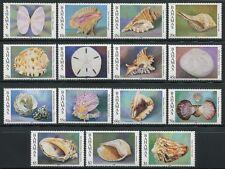 BAHAMAS 1996 Muscheln Weichtiere 889-903 JZ 1996 (15) ** MNH