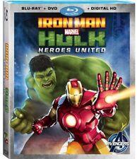 Iron Man & Hulk: Heroes United (2013, Blu-ray NEW) BLU-