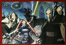 Star Wars: Tales From The Clone Wars - CV Villains Folded Poster - By Tom Hodges
