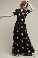 NWT $398 Anthropologie Marova Maxi Dress by Ghost Christy Size L