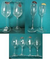 RIEDEL AND NACHTMANN CRYSTAL GLASS CHAMPAGNED - WINE - MADE IN GERMANY PICK 1
