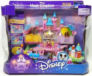 Disney's Magic Kingdom Castle Magical Miniatures Mattel 22468 NRFB