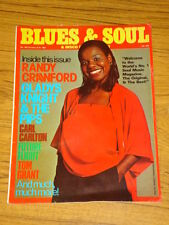 BLUES AND SOUL MUSIC MAG #340 1981 GLADYS KNIGHT DISCO