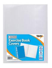 """Copertina del libro di esercizio pacco da 3 - 9""""X7"""" (240X183mm) IDEALE PER SCUOLA NOTEBOOK cura"""
