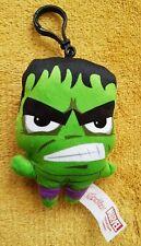 "Marvel Avengers Incredible Hulk Plush Soft Toy Keyring - 4.5"""