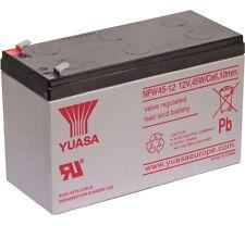 Yuasa NPW45-12 12V 45W Haut Rythme Décharge Plomb Acide Rechargeable SLA