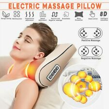 Electric Massage Pillow Music Soothing 3D Kneading Neck Shoulder Cervical Relax