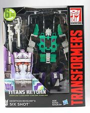 Transformers Generation Titans Return Leader Class SIXSHOT Action Figure Gift